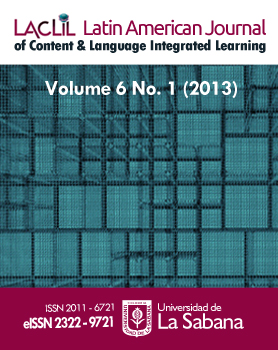 Latin American Journal of Content and Language Integrated Learning