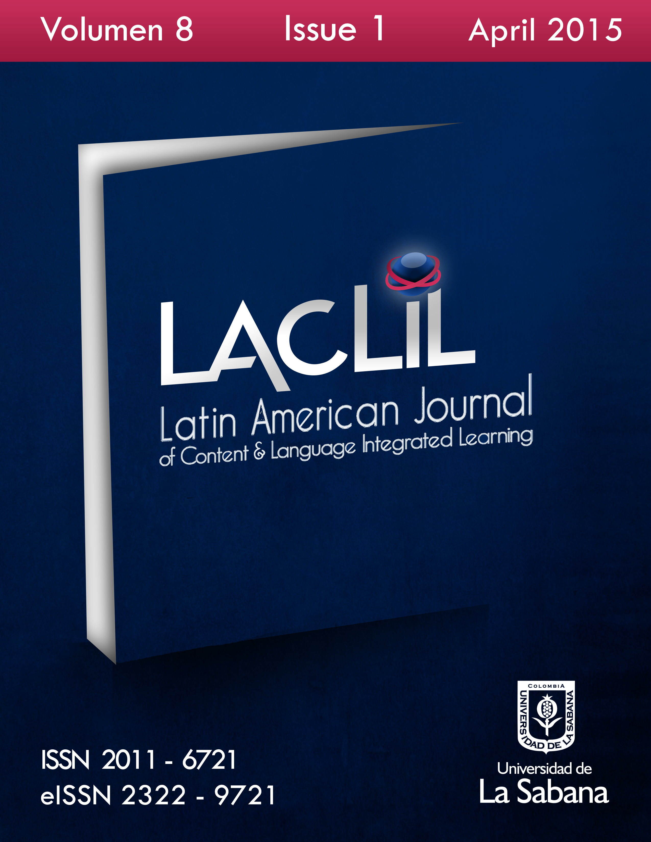 LACLIL Volume 8, No. 1 (April 2015)