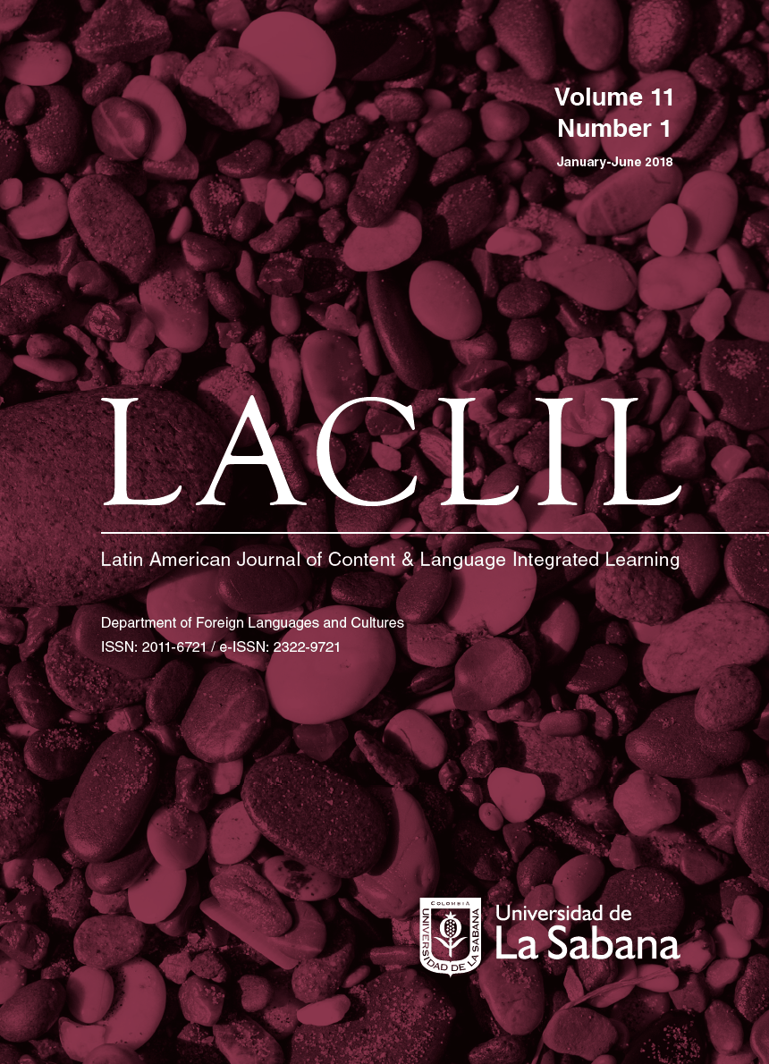 Front page - LACLIL 11(1)